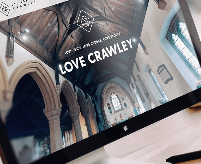 St John's Crawley website design and build